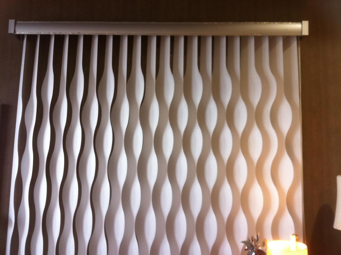 Formas de cortinas elegant cortina lamas vertical formas - Formas de cortinas ...